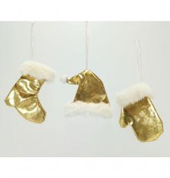 Κρεμαστό διακοσμητικό χρυσό 10 εκ. [00002553]