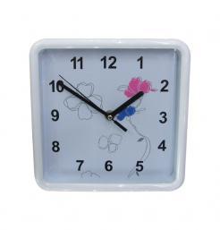 Τετράγωνο ρολόι τοίχοι 20x20cm με παραστάσεις [10302161]
