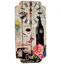 Ρολόι τοίχου μακρόστενο [10302217]