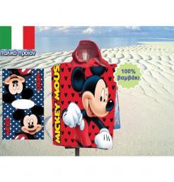 Πετσέτα-πόντσο θαλάσσης Mickey [70602653]