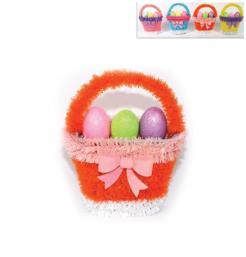 Διακοσμητικό καλάθι με αυγά [70603386]