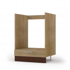 Alina Κάτω ντουλάπι  60x44,5x85, Σονόμα-Μόκκα, SO-AD60LOVEN