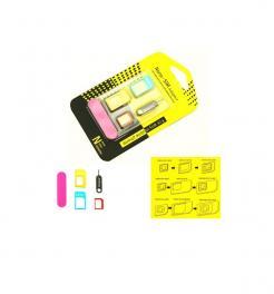 Αντάπτορας κάρτας SIM/MicroSIM/NanoSIM - 3 σε 1