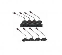Ασύρματο σετ 8Χ UHF μικροφώνων - Conference Wireless Microphones - 678907