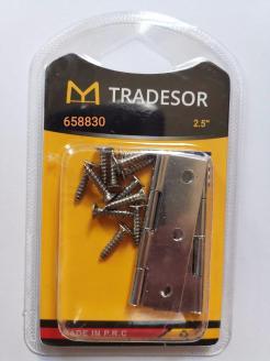 Μεντεσές πόρτας με βίδες - 2.5mm