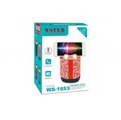 Ασύρματο ηχείο Bluetooth – USB/SD – WS1853